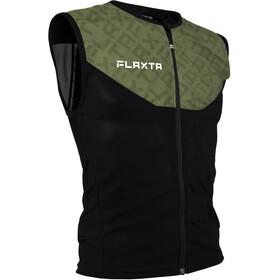Flaxta Behold Rugbeschermer Vest Heren, groen/zwart
